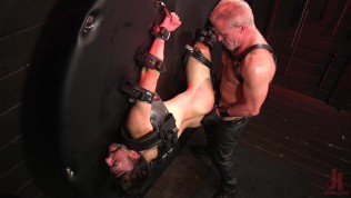 big-dicked mason lear penalized by attractive muscle daddy dale savage