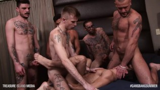Gang-bang Summer time 15 min brutal uncooked buttfucking