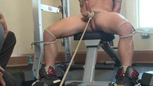 Jock Corded And Edged At Health club