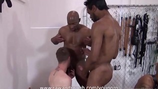 Massive Black Dick Drillers