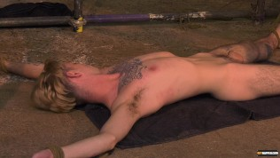 Skinny youthfull faggot Jacob Daniels tied and utilized by attractive dom