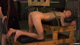 Servant youngster Jay Mc Dally restrained for BDSM torment