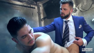 stud dato foland fuck hector de silva tied and blinded